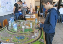 City model an a fair of technology